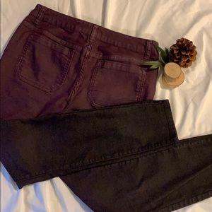 Prana Ombré Purple Pants